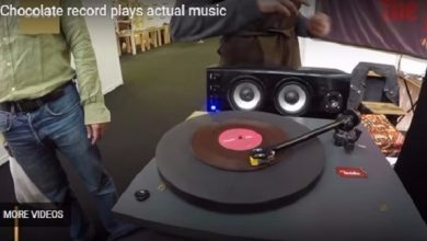 Photo of بالفيديو: آلة من الشوكولاه تعزف الموسيقى في حفل بلندن