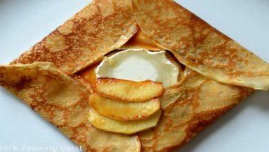 Photo of طريقة عمل كريب مالح بالجبن