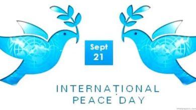 Photo of موضوع تعبير عن يوم السلام العالمي