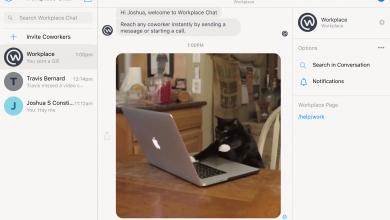Photo of فيس بوك تطلق تطبيق دردشة الحواسيب لخدمة Workplace