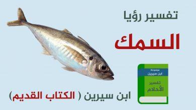 Photo of تفسير اكل السمك في الحلم