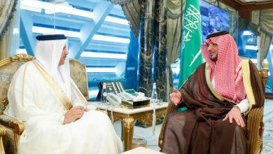 Photo of وزير الداخلية يبحث مع الزياني موضوعات الشأن الخليجي