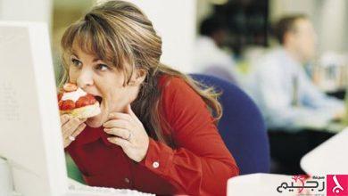 Photo of تجنب تناول الطعام بسرعة