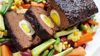 Photo of طريقة عمل قالب اللحم بالبيض