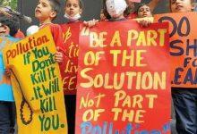 """Photo of أطفال الهند يتظاهرون للمطالبة بحقهم في """"التنفس"""""""