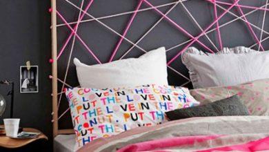 Photo of ديكور سرير نوم 24 فكرة مبتكرة لتجديد رأس سرير غرفة نومك