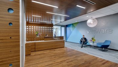 Photo of ديكور مكتب في إم وير VMware الأنيق بمقرها في دالاس