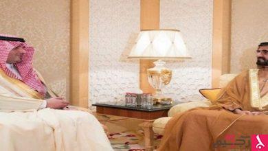 Photo of محمد آل مكتوم يستقبل وزير الداخلية