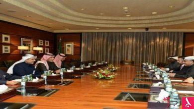 Photo of وزير النقل ونظيره البحريني يناقشان دراسة مشروع جسر الملك حمد
