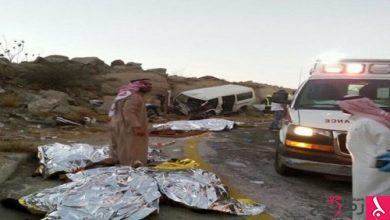 Photo of وفاة 8 إثر حادث مروع بعقبة حزنه بالباحة