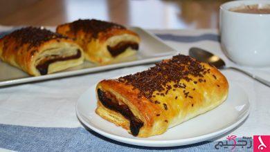 Photo of حلى بف بستري بالشوكولاتة