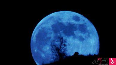 Photo of القمر الازرق الدموي يظهر في السماء