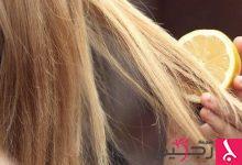 Photo of الليمون والزنجبيل لعلاج قشرة الشعر