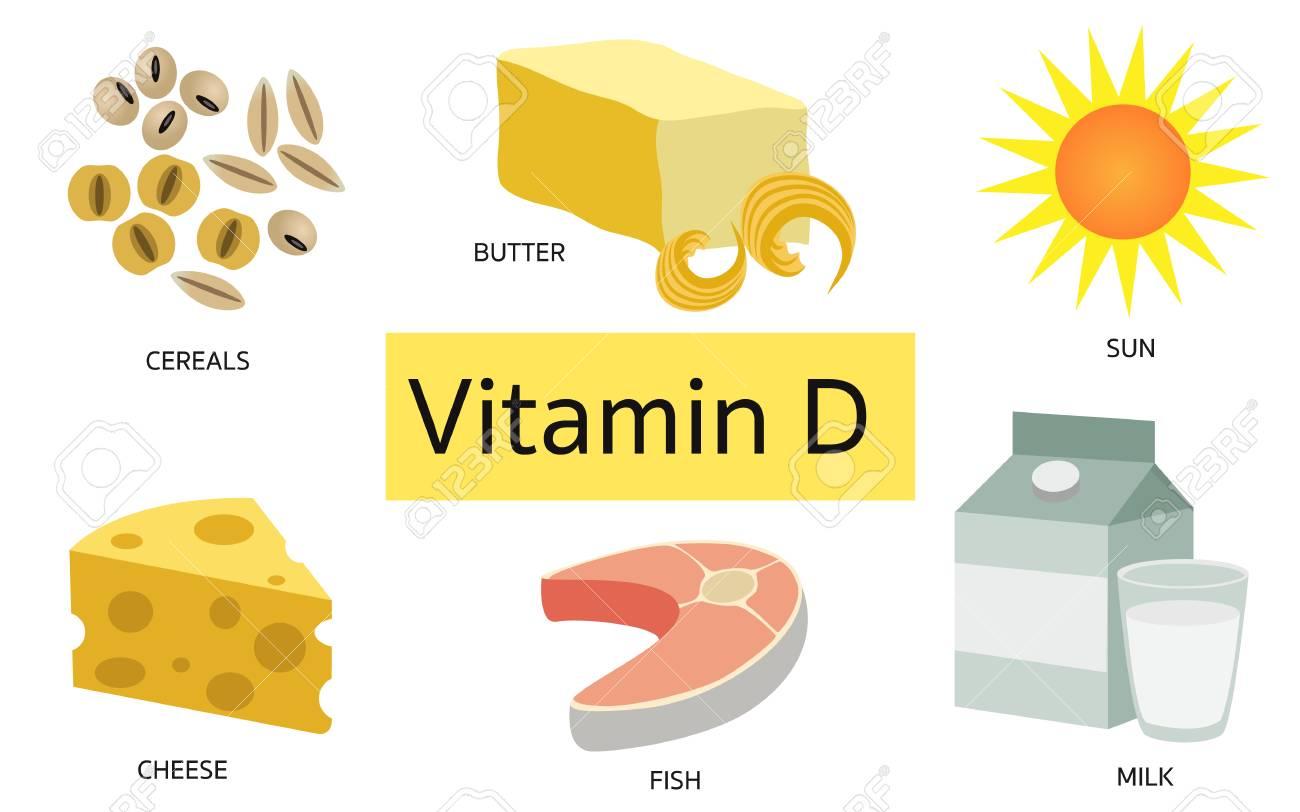 مصادر فيتامين د