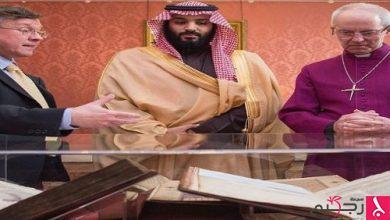 Photo of ولي العهد يلتقي رئيس الأساقفة وأعضاء البرلمان البريطاني