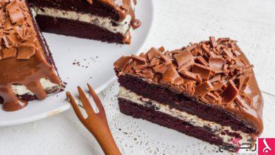 Photo of حلويات عيد الأم: كعكة الشوكولاتة باللبن