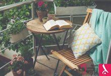 Photo of أفكار لطيفة لديكور الشرفات الصغيرة