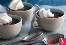 Photo of بودينغ الشوكولاتة لعيد الأم
