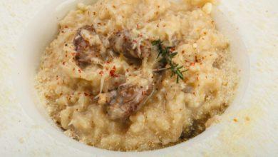 Photo of ريزوتو بالفطر من المطبخ الإيطالي