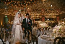 Photo of العارضة شانيل إيمان بفستاني زفاف بتوقيع زهير مراد (صور)