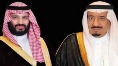 Photo of القيادة تعزي أمير الكويت في وفاة الشيخ فاضل الصباح