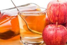 Photo of جربي وصفة خل التفاح المثلج لتنظيف البشرة