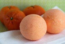 Photo of كرات البرتقال الفوارة للاستحمام