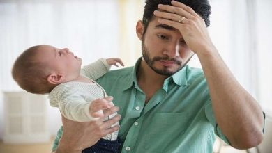 Photo of الرجال أيضا يصابون باكتئاب ما بعد الولادة