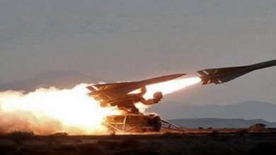 Photo of تدمير صاروخ لمليشيا الحوثي في سماء نجران