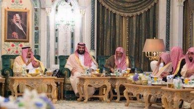 Photo of خادم الحرمين الشريفين يستقبل أئمة ومؤذني المسجد الحرام