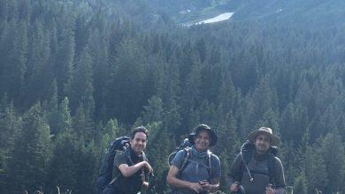 Photo of صورة عضو الشورى عبد الله السعدون مع ولديه بجبال الألب تشعل تويتر