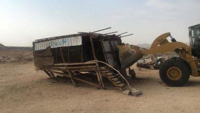 Photo of البلديات الفرعية بأمانة تبوك تواصل حملة معالجة التلوث البصري