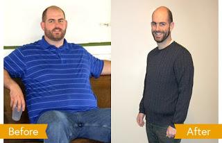 رجيم سريع , خسارة الوزن