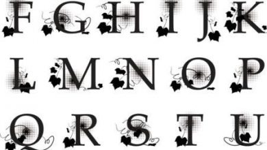 Photo of حروف ، حروف انجليزية صغيرة ، حروف انجليزية مزخرفة واتس اب ، حروف معربة