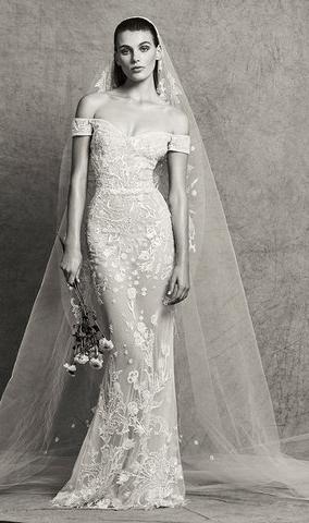 31eb9144b18e0 ازياء زفاف فخمه 2019 - صور فساتين زفاف من تصميم زهير مراد