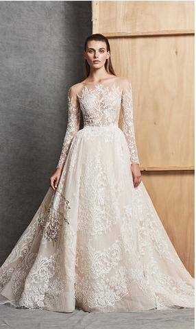 dd90818ae7216 ازياء زفاف فخمه 2019 - صور فساتين زفاف من تصميم زهير مراد