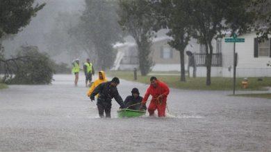 Photo of عاصفة فلورانس تودي بحياة 8 أشخاص في ولايتين أمريكيين