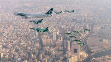 Photo of شاهد.. عروض تنفذها القوات الجوية بطائرات مقاتلة ضمن احتفالات اليوم الوطني