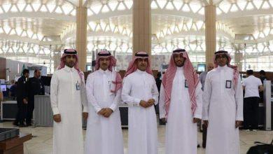 "Photo of بالصور: ""مطارات الرياض"" تطور منطقة تفتيش المسافرين في الصالات الدولية بمطار الملك خالد"