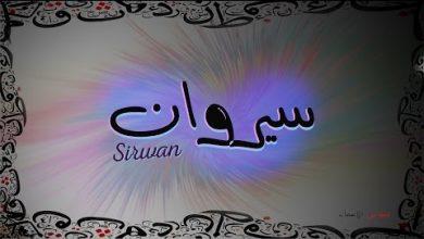 Photo of معنى اسم سيروان وصفات حامل هذا الاسم Sirwan