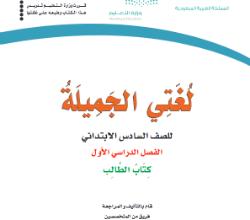 Photo of أسئلة الفترة الأولى مادة لغتي الصف السادس الابتدائي الفصل الاول 1440 هـ / 2019 م
