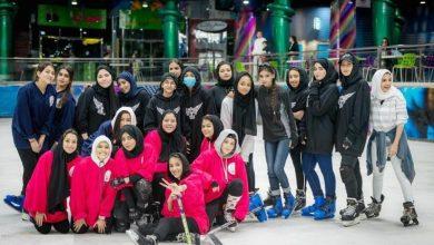 Photo of صور أول فريق نسائي لرياضة الهوكي بالسعودية