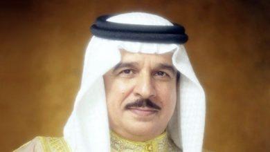 "Photo of ملك البحرين مهنئاً الإمارات: ""خليفة سات"" فخر للأمتين العربية والإسلامية"