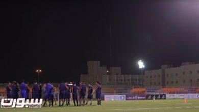 Photo of الفيحاء يستأنف تمارينه على ملعب النادي