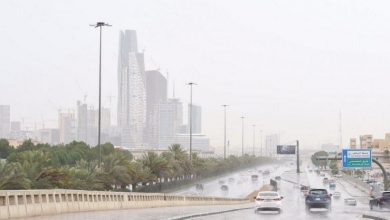Photo of توقعات بأمطار على المدينة وتبوك والقصيم وحائل والجوف والرياض والشرقية ومكة
