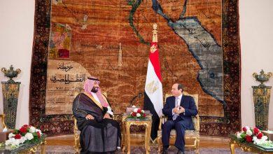 Photo of ولي العهد يلتقي الرئيس المصري في قصر الاتحادية بالقاهرة