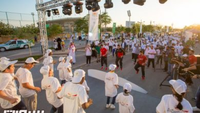 Photo of وقت اللياقة يشارك هيئة الرياضة في اليوم العالمي للمشي