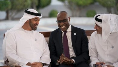 Photo of محمد بن زايد يتلقى رسالة من رئيس السنغال