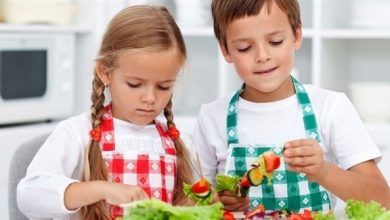 Photo of الأطفال النباتيون مهددون بنقص الفيتامينات والمعادن