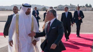 Photo of استقبال رسمي وشعبي حافل لمحمد بن زايد في عمّان